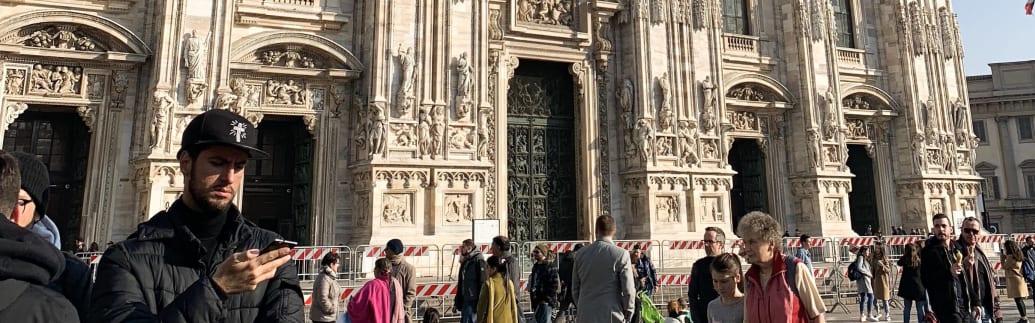 ミラノの象徴「ドゥオモ・ディ・ミラノ」