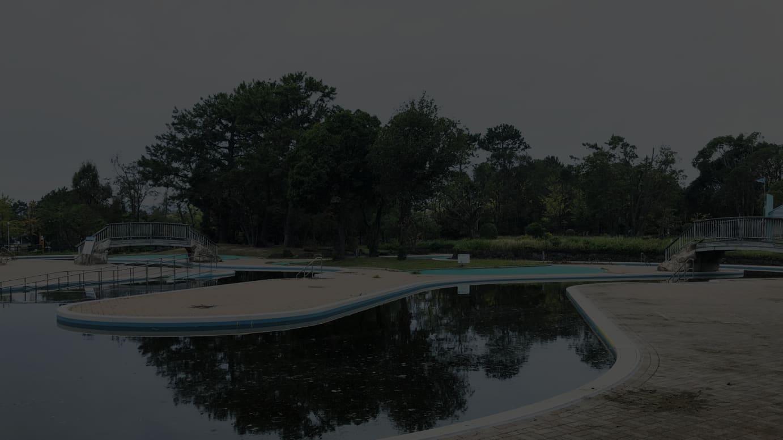 フィッシングパーク内イメージ(流水プール)