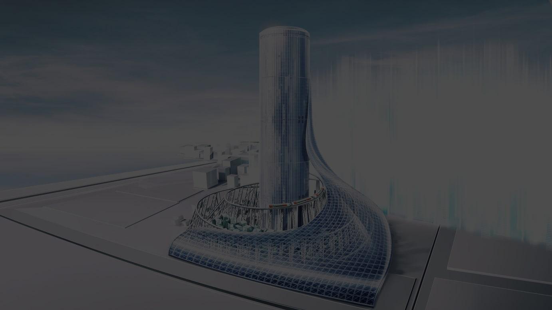 「夢洲駅タワービル」(仮称)イメージ画像