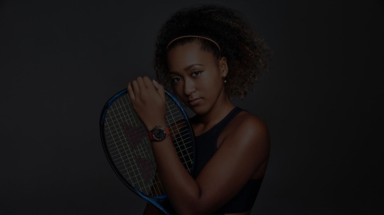 全豪オープンテニスの試合で第2弾モデルを着用する大坂なおみ選手