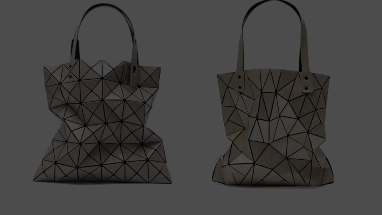 比較画像(左)イッセイ ミヤケの商品、(右)ラルジュ社の商品