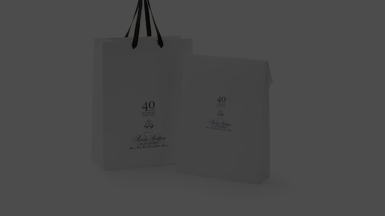 特別デザインのショッピングバッグ