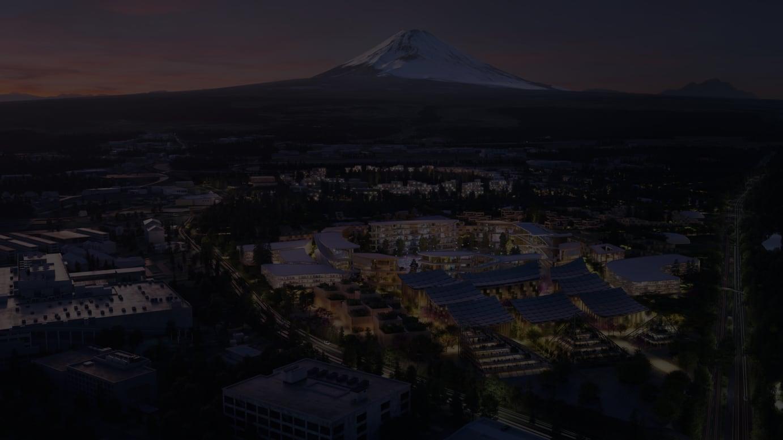 トヨタ実証都市イメージ