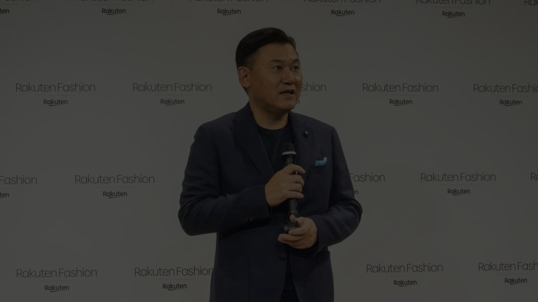 楽天の三木谷浩史社長(2019年10月撮影)