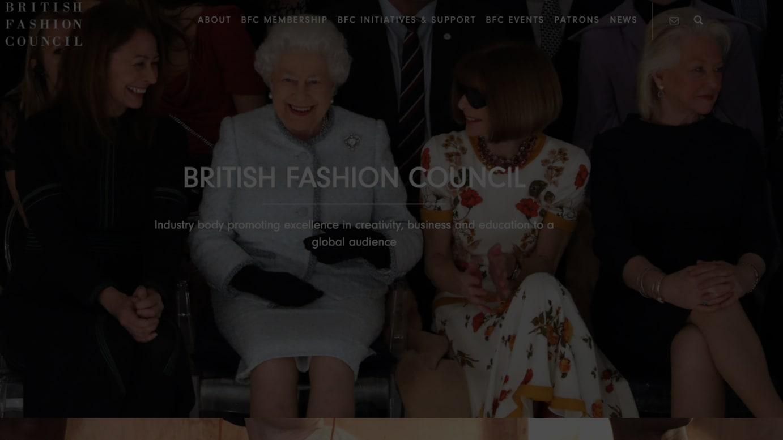 英国ファッション評議会 公式サイトより