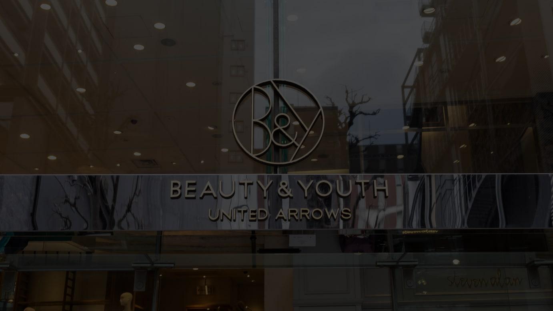 展開ブランド「ビューティ&ユース ユナイテッドアローズ」ロゴ