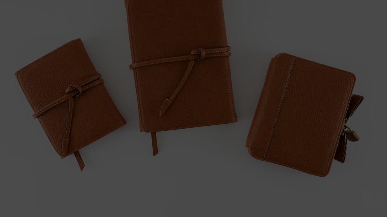 土屋鞄とコラボレーションした手帳カバー
