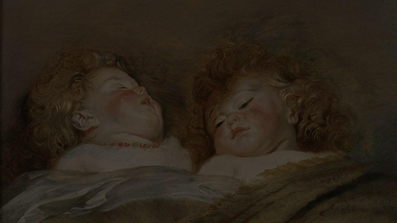 ペーテル・パウル・ルーベンス  「眠る二人の子」 1612-13年頃