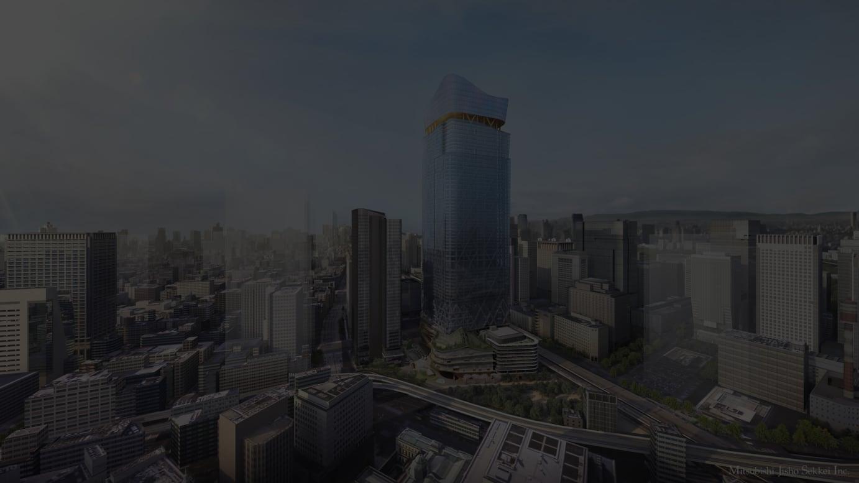 左から「常盤橋タワー」「トーチタワー」イメージ画像