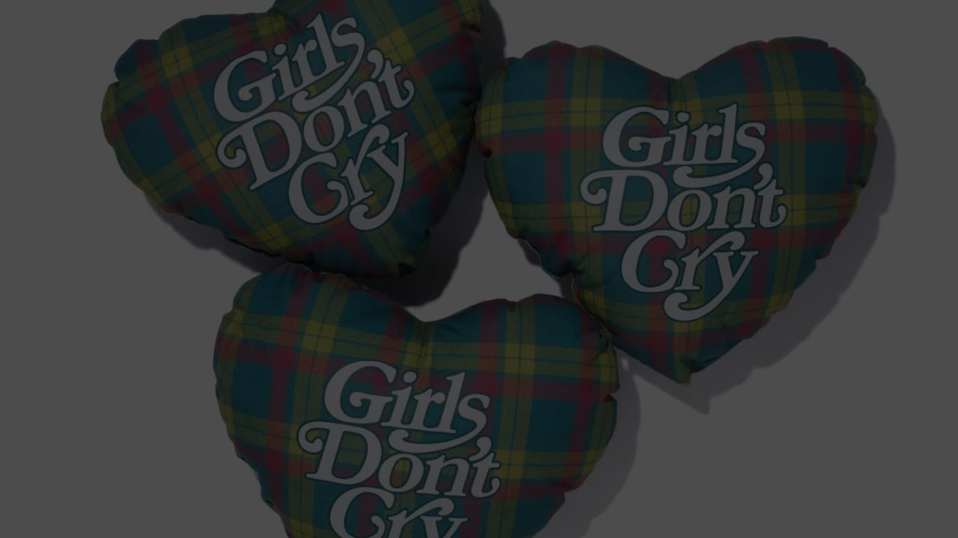 Girls Don't Cry×伊勢丹 ピロー (税込9900円)