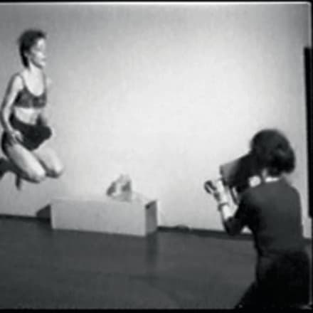 Joan Jonas, Organic Honey's Vertical Roll, 1973, video still