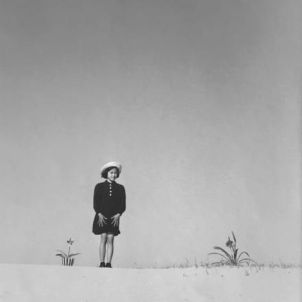 植田正治「カコ」1949年 Image by courtesy of the  ZEIT-FOTO Collection