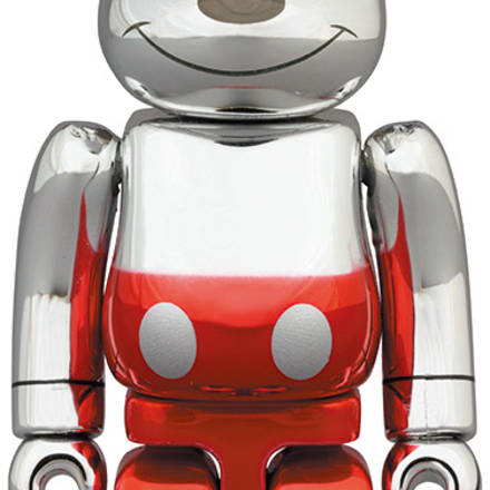 BE@RBRICK FUTURE MICKEY (2nd COLOR Ver.) 1000% Image by © Disney