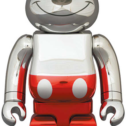 BE@RBRICK FUTURE MICKEY (2nd COLOR Ver.) 400% Image by © Disney