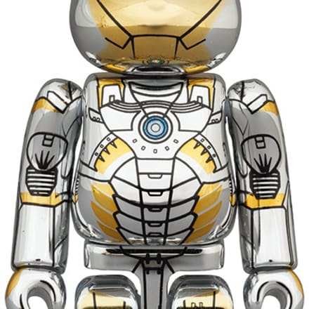 BE@RBRICK SORAYAMA IRON MAN 1000%(8万8000円) Image by © 2020 MARVEL BE@RBRICK TM & © 2001-2020 MEDICOM TOY CORPORATION. All rights reserved.