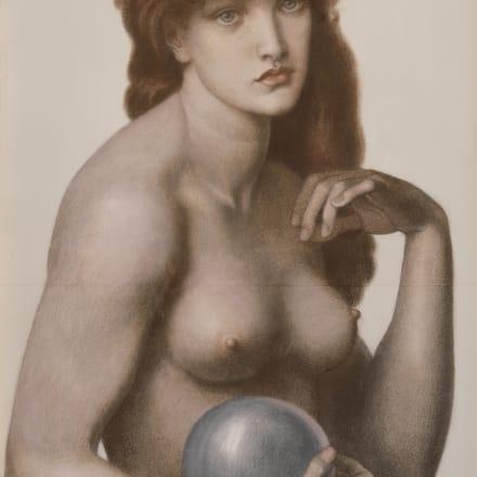 ダンテ・ガブリエル・ロセッティ《マドンナ・ピエトラ》1874年、郡山市立美術館、通期展示