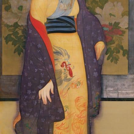 甲斐庄楠音《横櫛》大正5年頃、京都国立近代美術館、通期展示