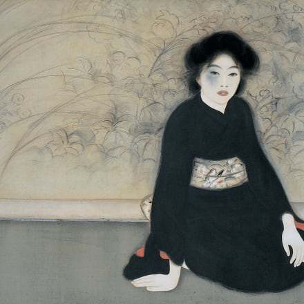 島成園《無題》大正7年、大阪市立美術館、半期展示
