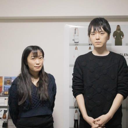 (左から)平戸麻鈴、戸川大地 Image by FASHIONSNAP.COM
