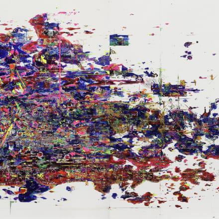 """梅沢和木 """"ジェノサイドの筆跡"""" Image by 2009 Courtesy of CASHI"""