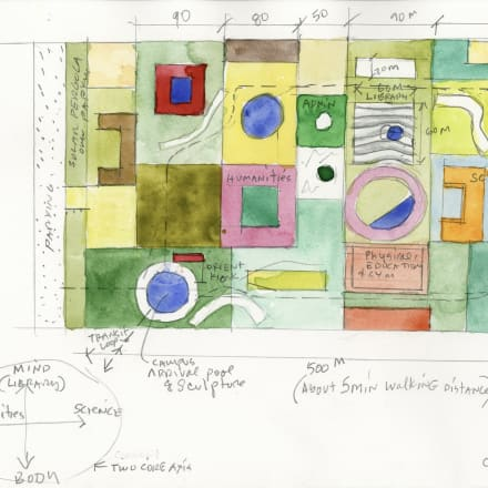 Steven Holl, Malawi site study for Lilongwe