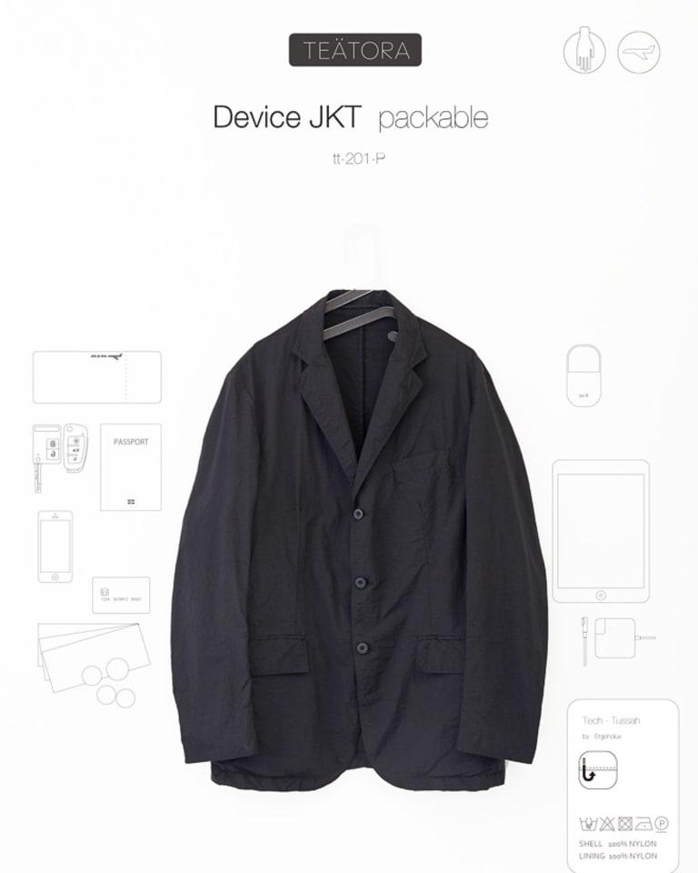 DEVICE JKT packable 税込58,320円