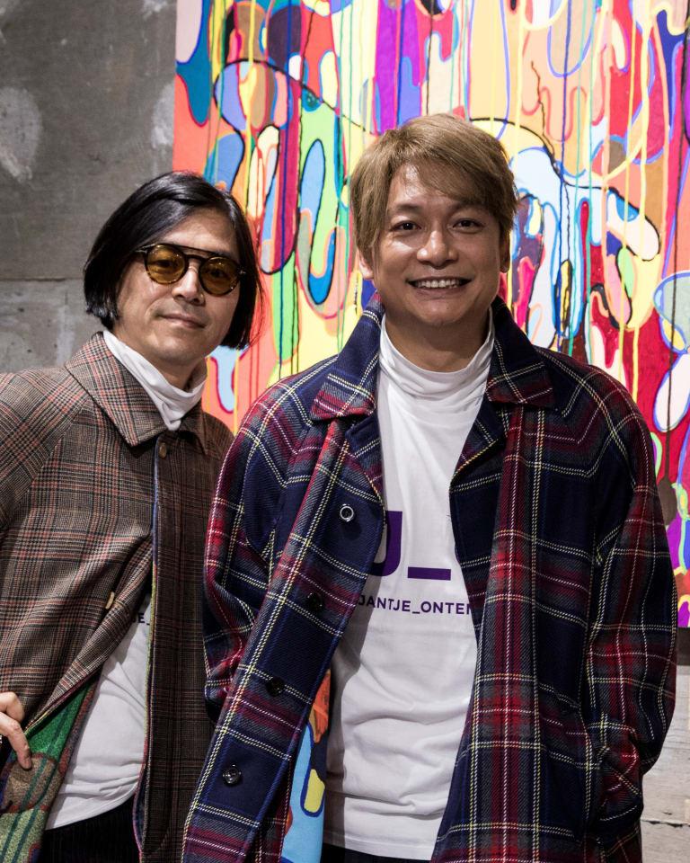 (左)祐真朋樹/(右)香取慎吾