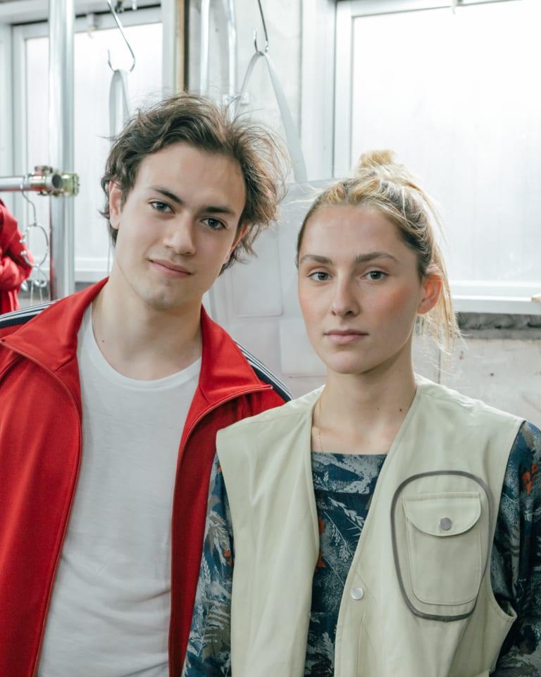 写真左から)ピエール・カツマレク、エレナ・モットラ