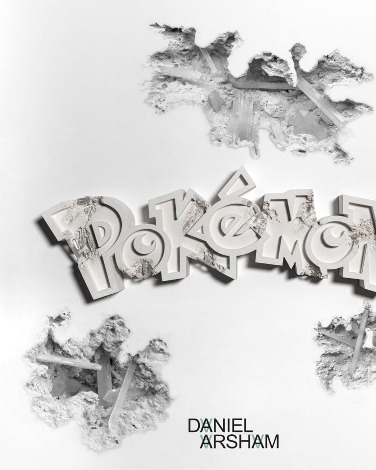 © 2020 Pokémon. TM, ®Nintendo © Daniel Arsham Courtesy of Nanzuka