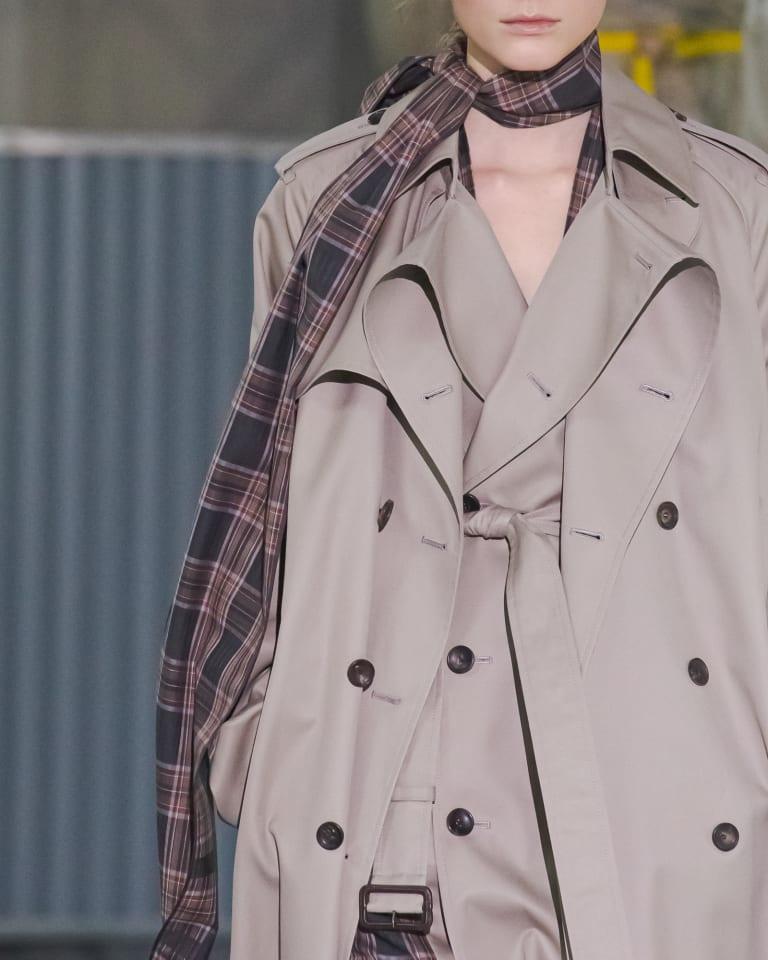 ultimate pima twill trench coat