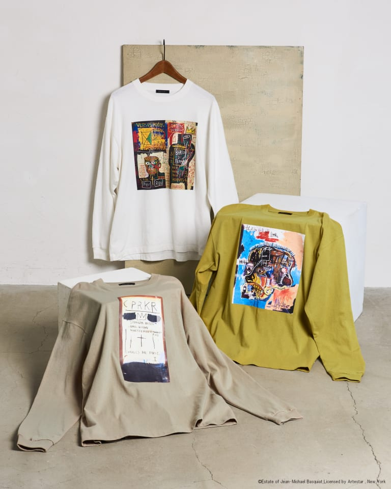 ロングスリーブTシャツ(税込4290円)