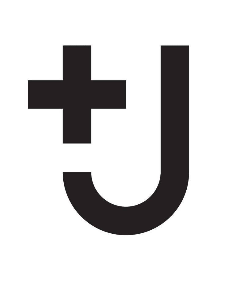 「+J」のロゴ