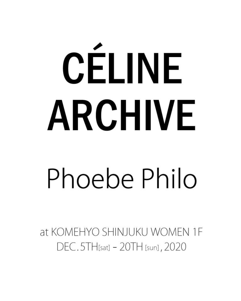 CÉLINE ARCHIVE Phoebe Philo