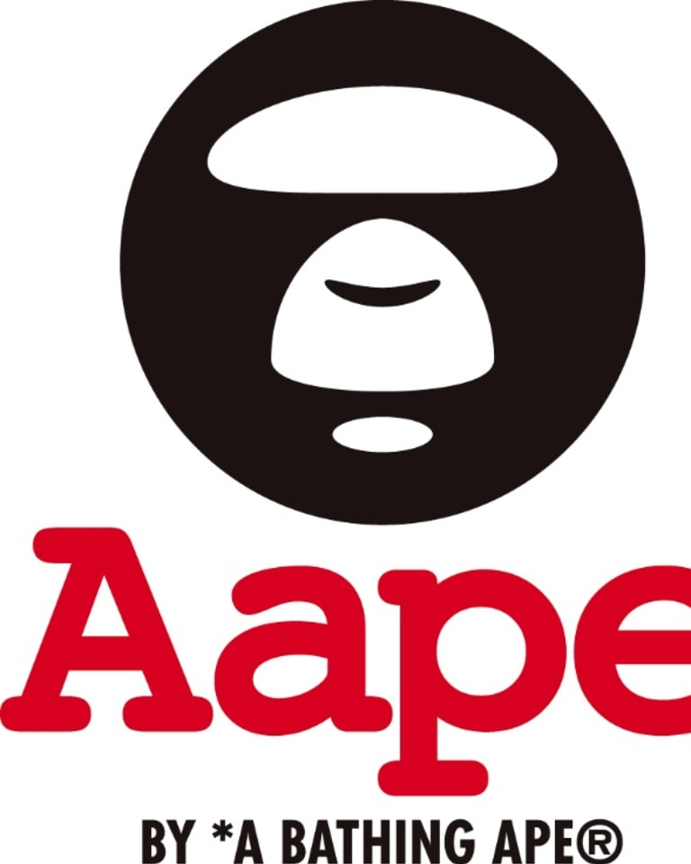 AAPE BY A BATHING APE®ロゴ