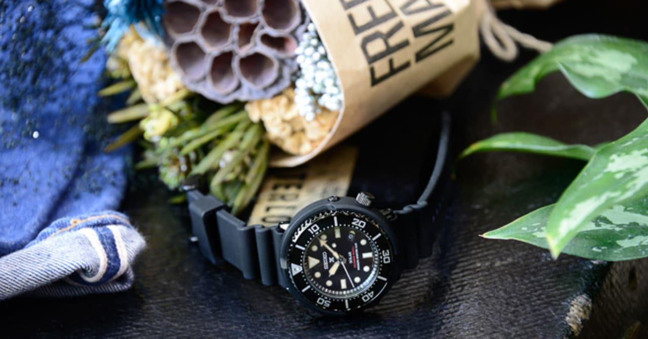 セイコー「ダイバースキューバ」から初のタウンユースモデル、日米400本の限定時計も