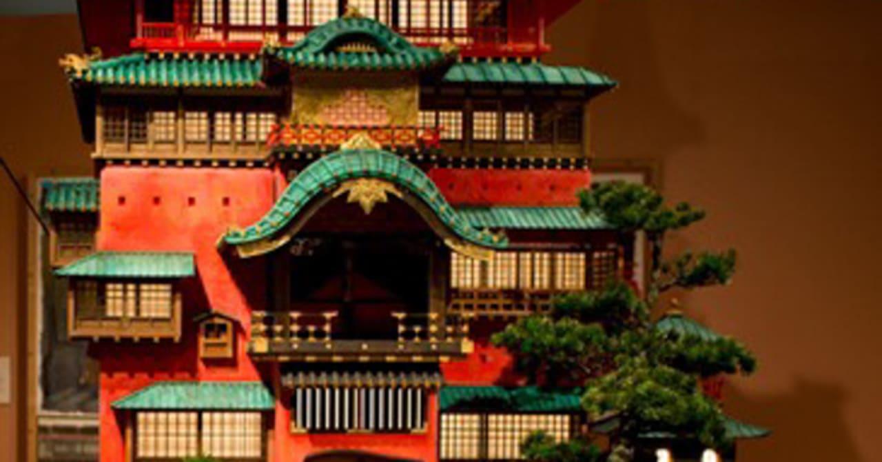 ジブリアニメの建物が立体に、大阪で「ジブリの立体建造物展」開催