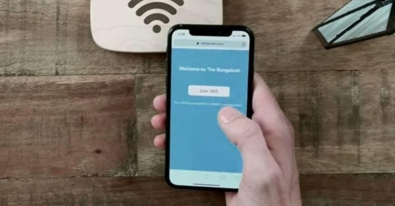 wi fi プライバシー に関する 警告