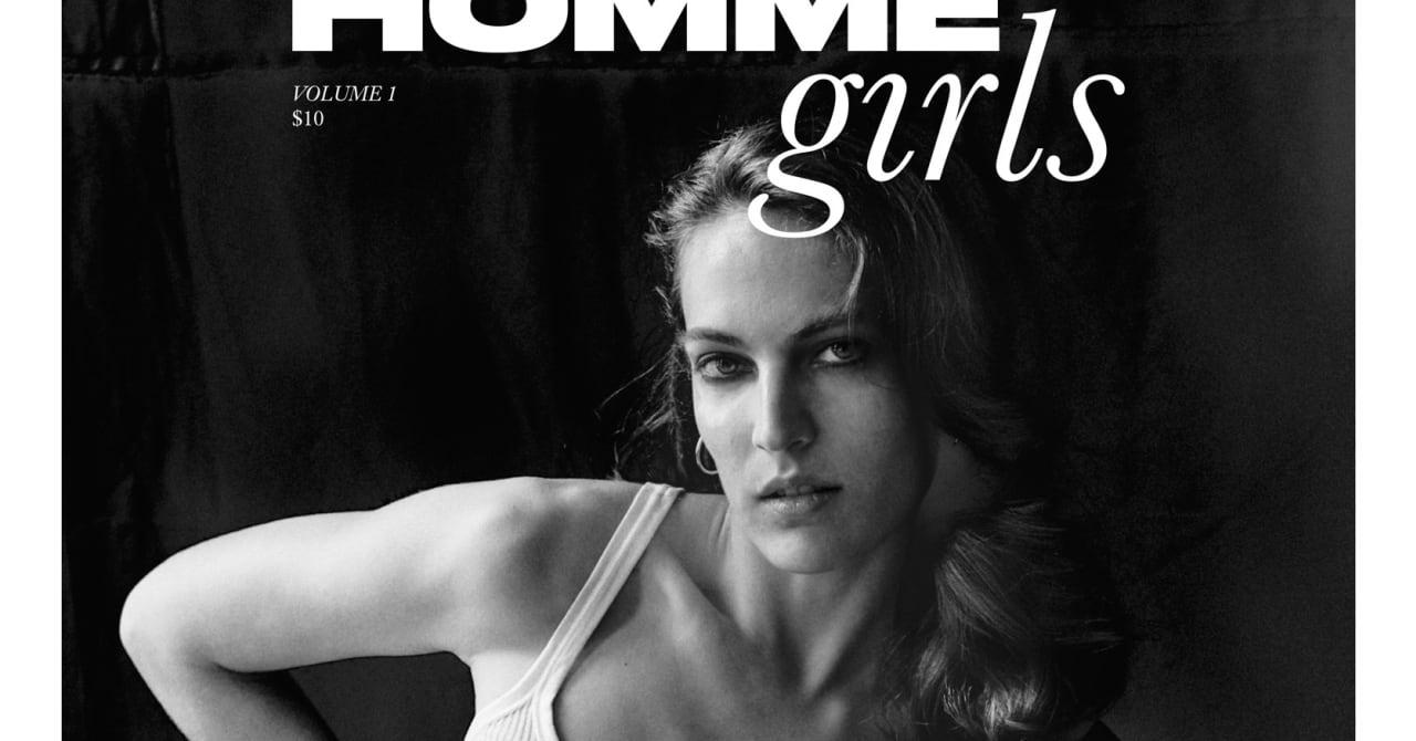 ブランド休止中のタクーンがプロジェクト「HommeGirls」始動、メンズ服好きの女性に向けZINEを制作