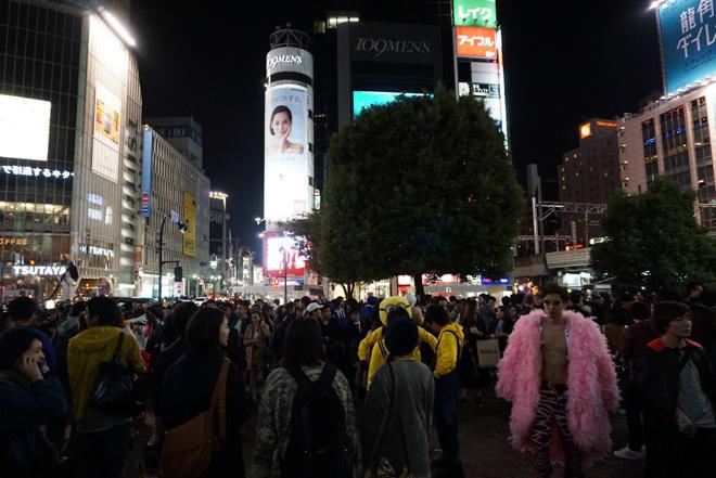 ハロウィン 渋谷 今年 の