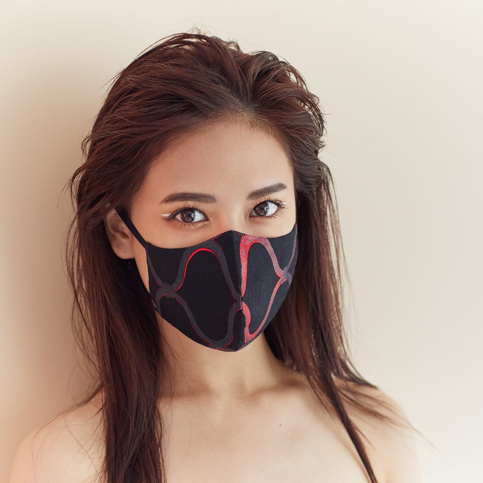 マスク 浴衣
