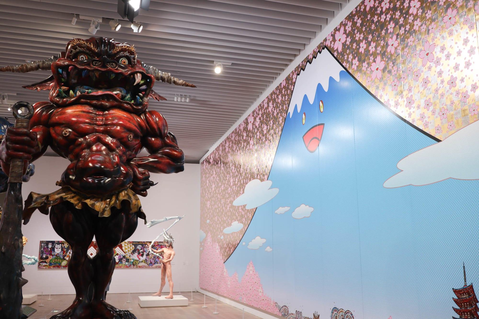 """草間彌生、村上隆、奈良美智...""""現代美術のスター""""の作品70点を集めた「STARS展」が開幕"""