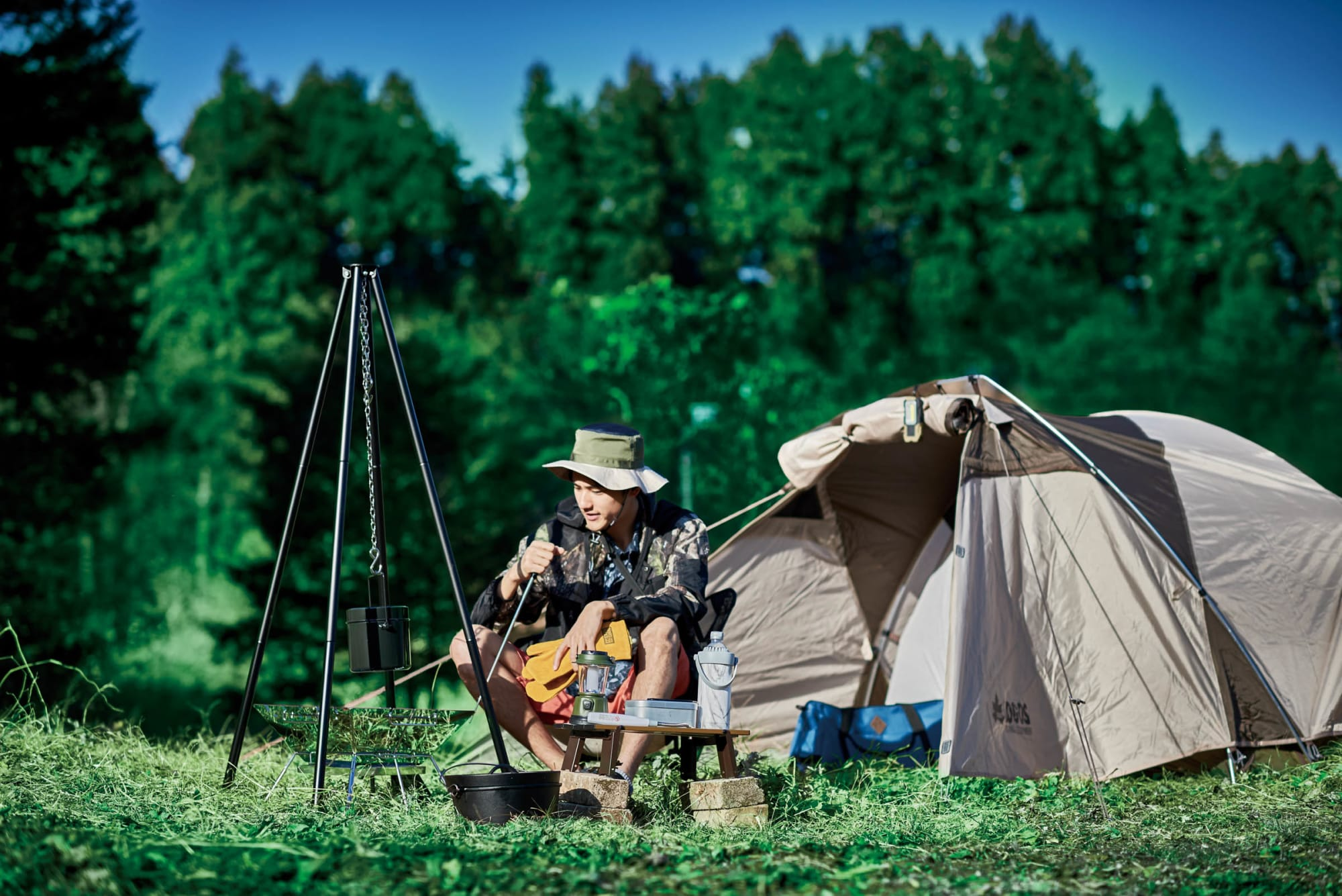 キャンプ ワークマン