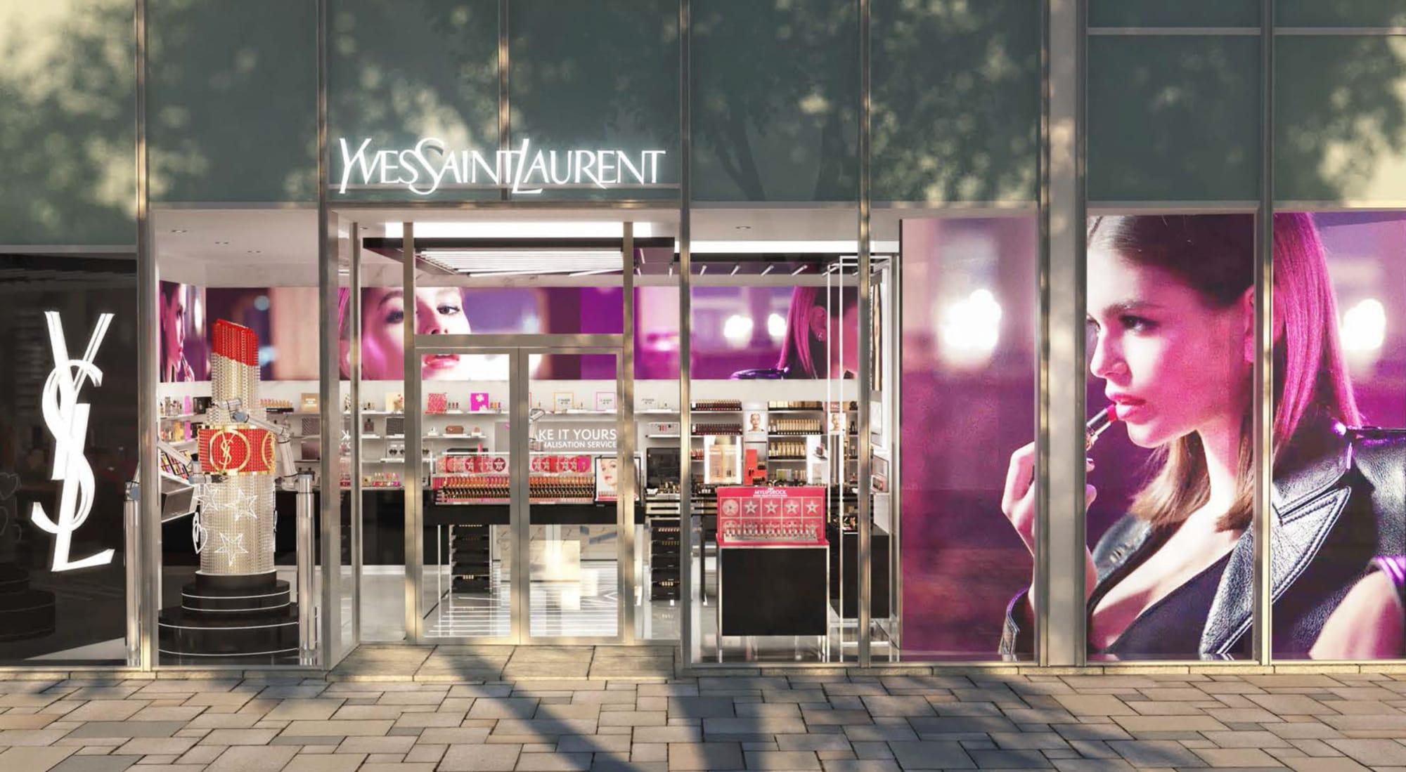 イヴ サンローラン ボーテ 日本初の旗艦店が表参道ヒルズにオープン