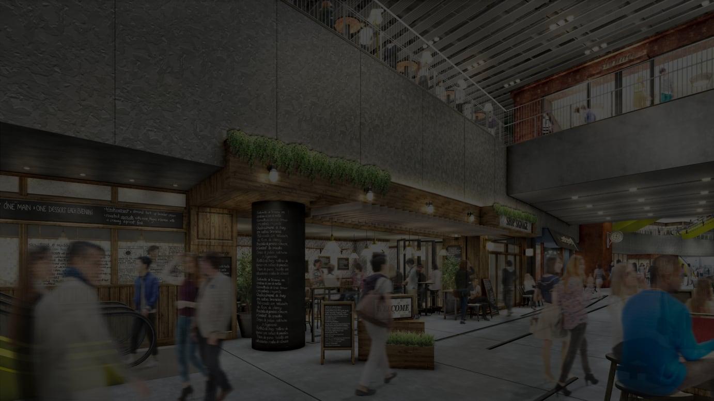 渋谷ストリーム 商業施設イメージ(2階)