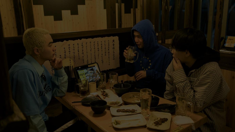 (左から)高橋 侃、杉田 和希、岡本 大陸
