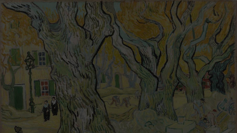 フィンセント・ファン・ゴッホ《道路工夫》1889年 油彩/カンヴァス フィリップス・コレクション蔵 The Phillips Collection フィンセント・ファン・ゴッホ《道路工夫》1889年 油彩/カンヴァス フィリップス・コレクション蔵  The Phillips Collection