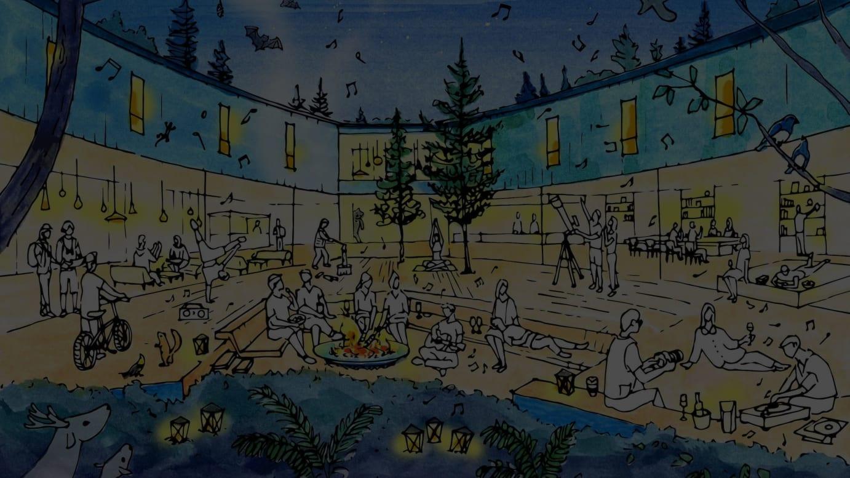 「星野リゾート BEB 軽井沢」イメージ画像