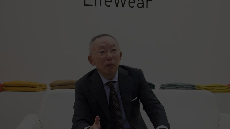 ファーストリテイリング代表取締役会長兼社長 柳井正