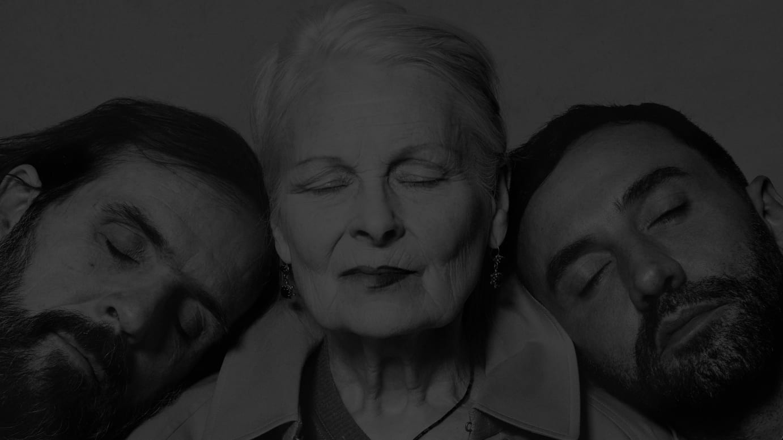 Portraits of Riccardo Tisci, Vivienne Westwood and Andreas Kronthaler