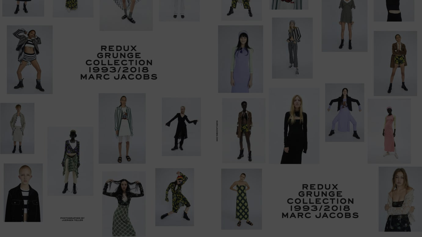 Redux Grunge Collection 1993/2018 Marc Jacobsのルック
